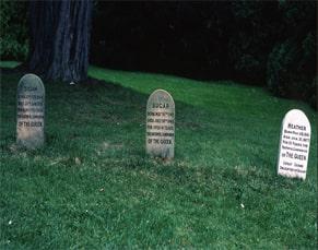 Queen Elizabeth's corgis graveyard